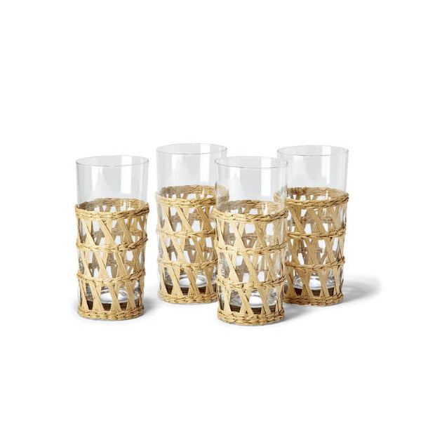 Lanai Lattice Highball Glass (Set of 12)