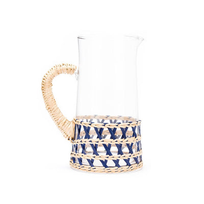 Island Wrapped Navy Pitcher