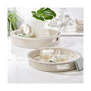 Mantoloking Rattan Nesting Trays (Set of 3)