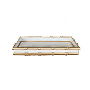 Bamboo Tray in White