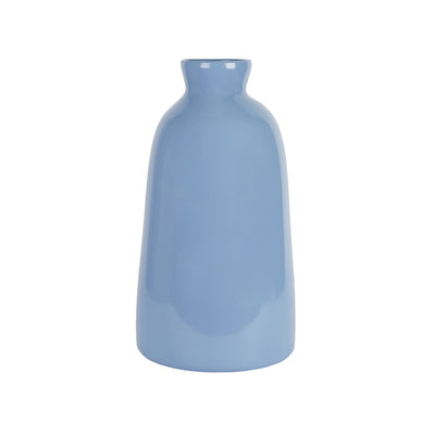 French Blue Seagirt Vase - Large