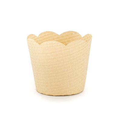 Paper Orchid Basket - Natural