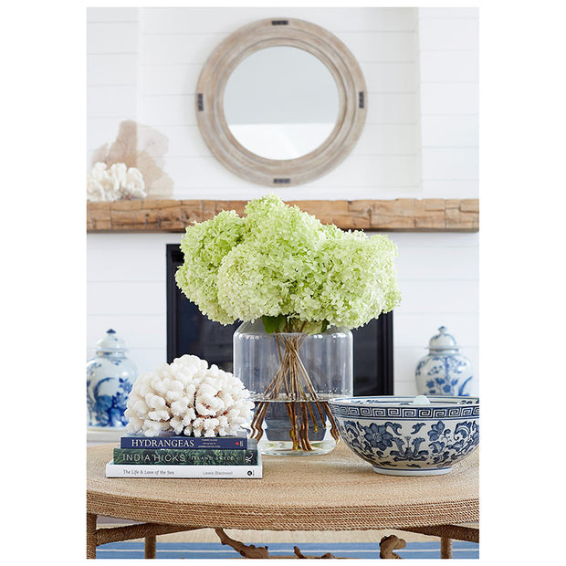Coastal Vase & Hurricane - 2 Sizes