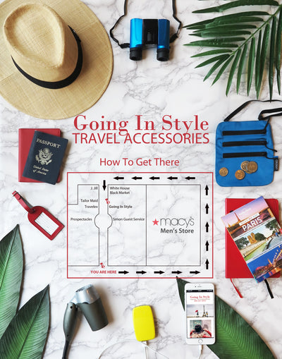 Stop By Going In Style Travel Accessories at Stanford Shopping Center