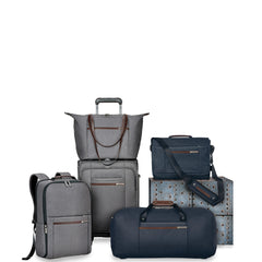 Shop Kinzie Street Bags Luggage in Blue and Gray