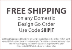 Free Shipping on Design Go Travel Products Coupon Code