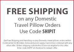 Free Shipping Coupon Code Going In Style Travel Pillows