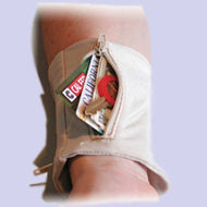 Beige Wrist Pocket
