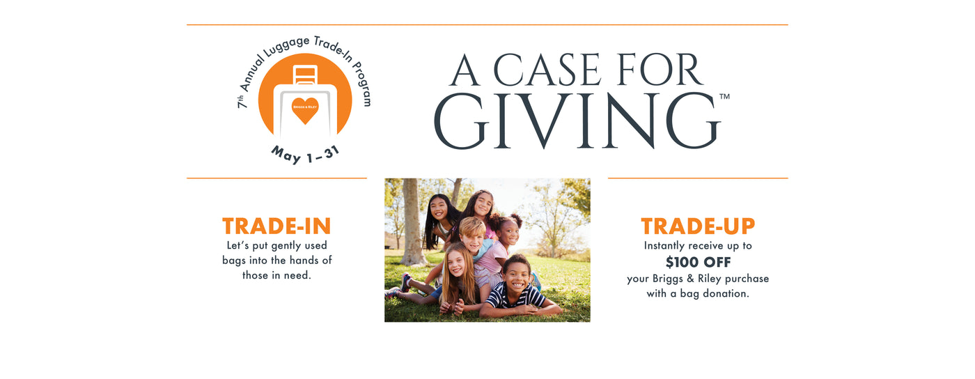 Luggage Drive for Foster Kids - Get $100 Off when you bring in used luggage