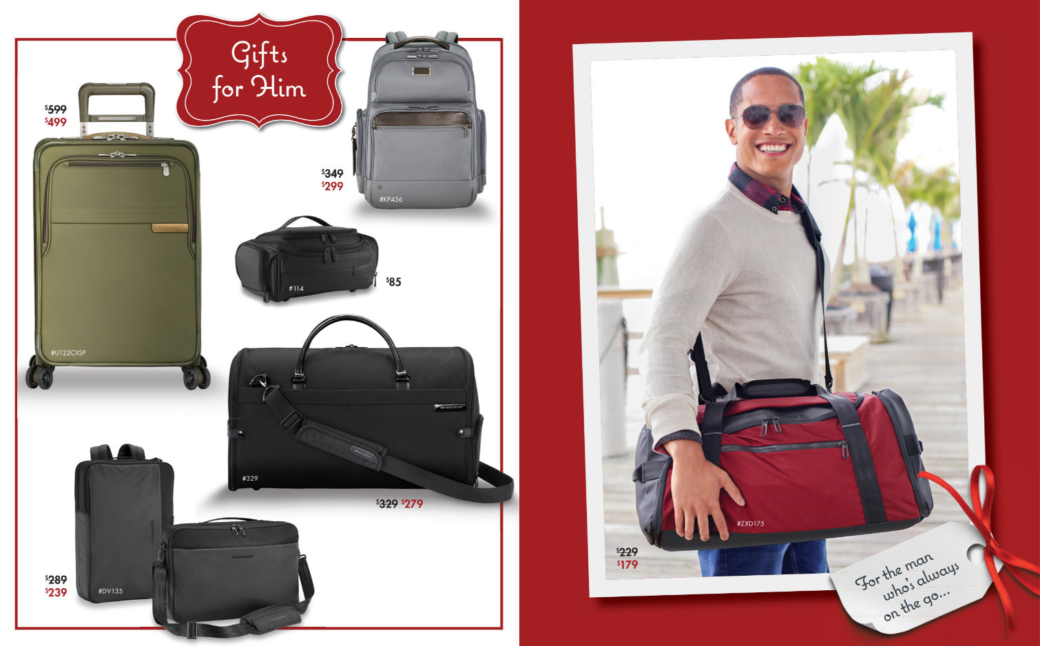 Briggs & Riley Holiday Gifts For Him