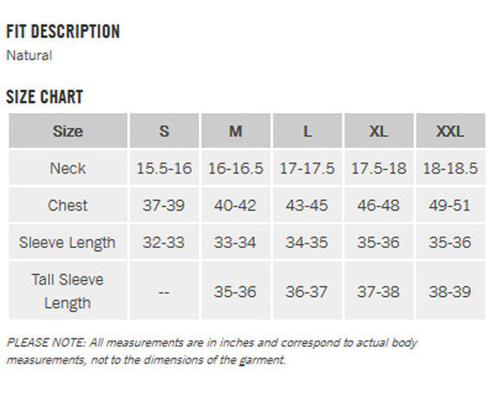 Exofficio Mens Clothing Size Chart Going In Style