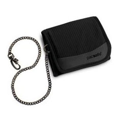 PacSafe Secure Travel Wallet with Chain