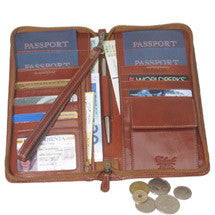 Selection of cases to fit your passport and itinerary whether you are traveling solo or with a family of five