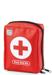Travel Size First Aid Kit Color Red Design Go