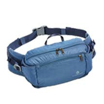blue waist fanny pack for travel