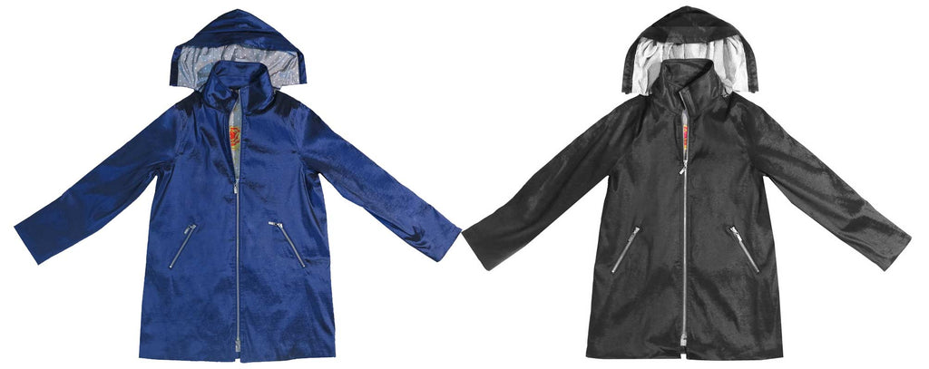 Mycra Pac Gabby Raincoat Colors Navy and Black