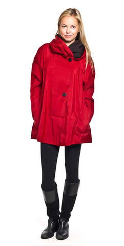 Buy Mycra Pac Mini Raincoats color cherry red