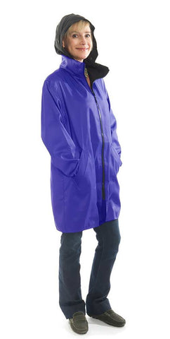 Stadium Grape Mycra Pac Raincoat