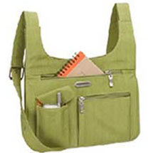 green travel crossbody shoulder purse