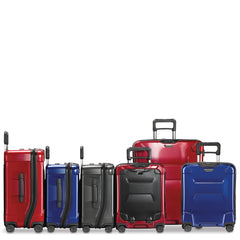 Briggs Riley TORQ Hardside Luggage colors red, black and blue
