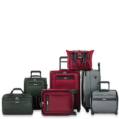 Briggs Riley Transcend Luggage in colors Red Grey and Black