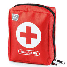 Bright Red Travel First Aid Kit...