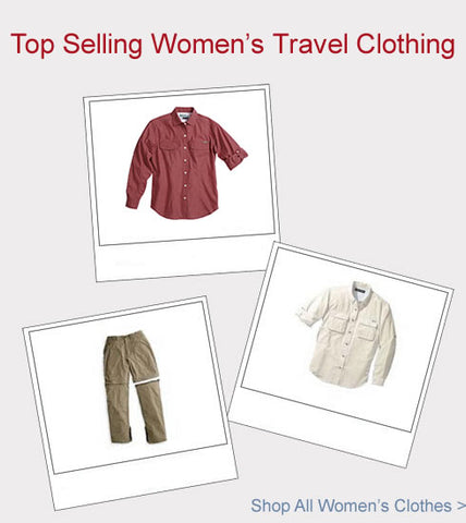 Womens Travel Clothing Top Sellers