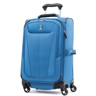 "Travelpro Maxlite 5 Expandable 21"" Spinner Carry On Azure Blue"