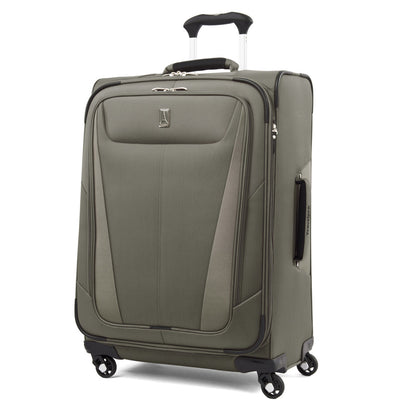 "Travelpro Maxlite 5 Expandable 25"" Spinner Suitcase Slate Green"