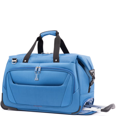 Travelpro Maxlite 5 Carry-On Rolling Duffel Azure Blue