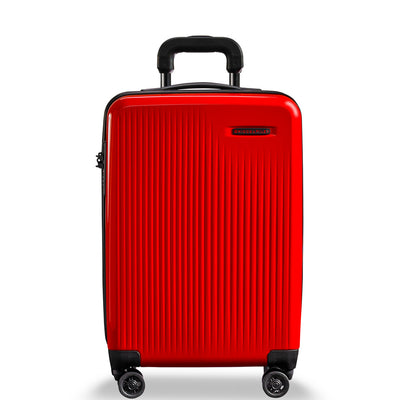 Briggs & Riley Sympatico Domestic Carry-On Expandable Spinner Fire Red