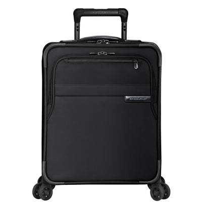 Baseline Commuter Expandable Spinner Carry-On Black