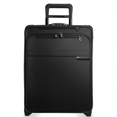 International Carry-On Expandable Wide Body Upright Black