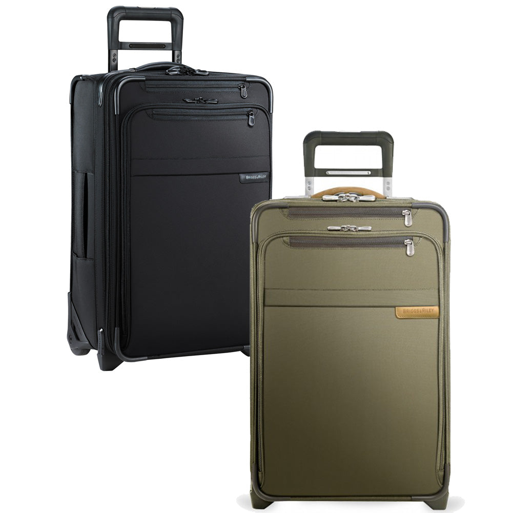 8c5d9b1466 ... Baseline Domestic Carry-On Expandable Upright in black and olive ·  Briggs   Riley Baseline ...