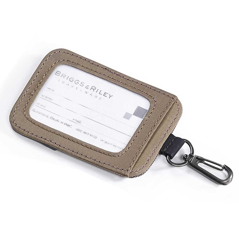 Briggs riley transcend magnetic id tag model wtd40 going in style suitcase id has standard business card size id window luggage tag magicingreecefo Choice Image