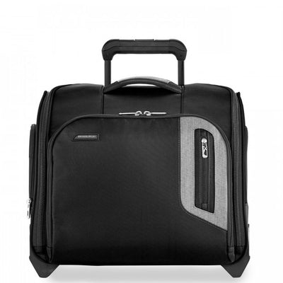 Briggs & Riley Rolling cabin bag front view black travel