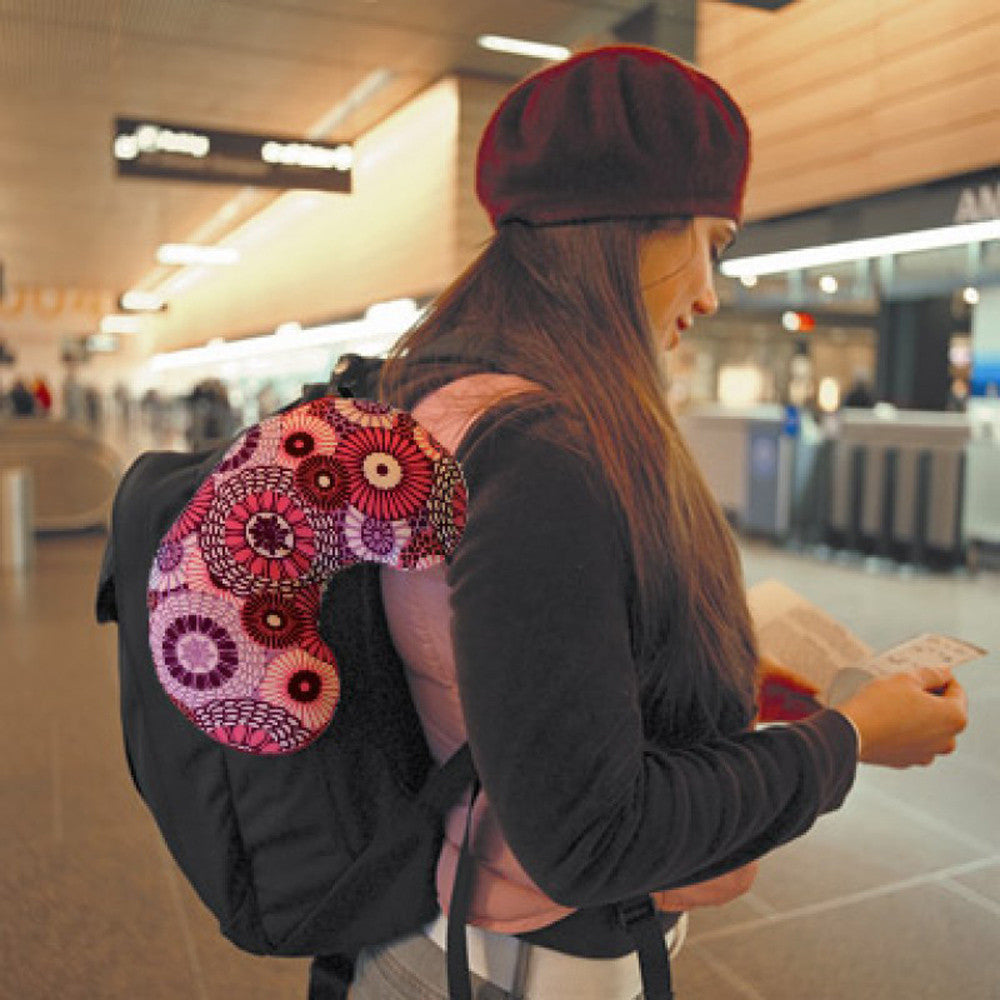 0c432d2896ac Bucky Minnie Compact Travel Pillow with Snap and Go