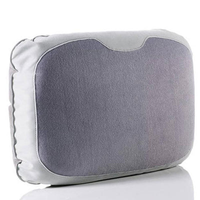Inflatable Travel Lumbar Pillow Grey