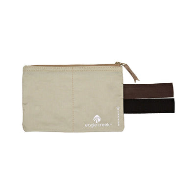 tan RFID blocking pocket