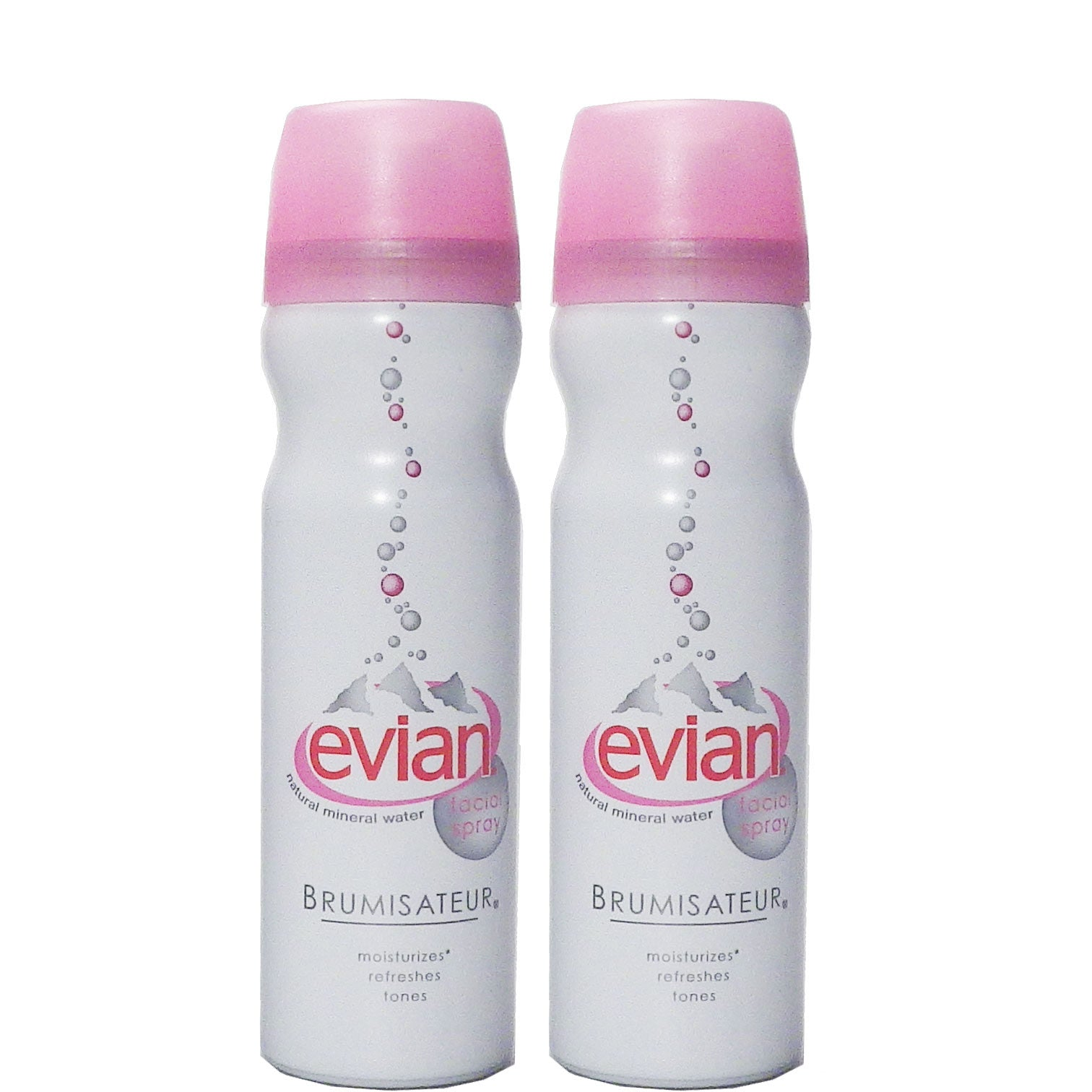 Evian Facial Spray Mist Small Set Of Two Going In Style