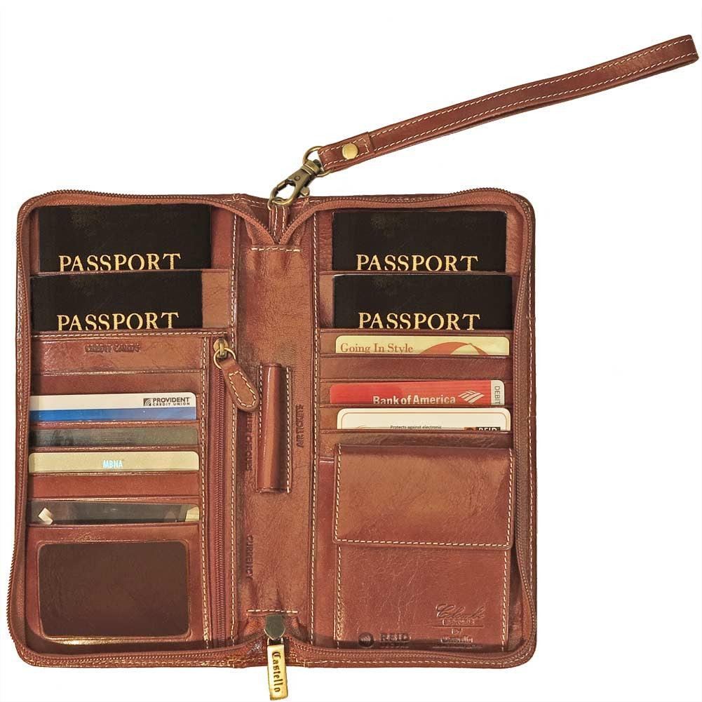 553854810167 Passport & Document Holders - Going In Style