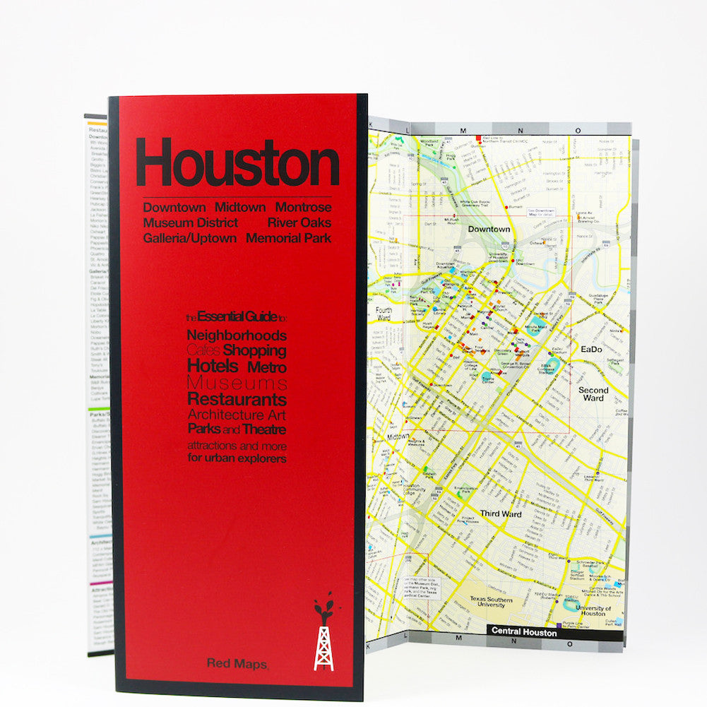 Books And Maps Going In Style - Map of houston hotels downtown