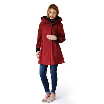 Dona Raincoat Mini Red