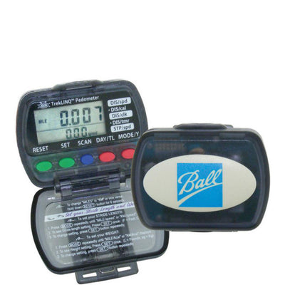 Pedometer with Easy to Read Five Setting Display