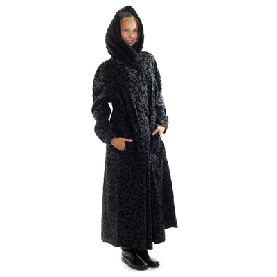 Mycra Pac Long Scroll Coat with Hood