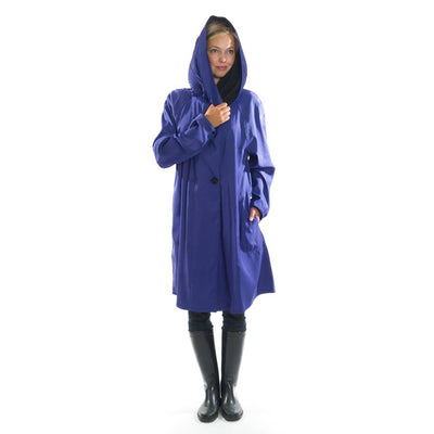 Mycra Pac Grape Short Raincoat Donatella