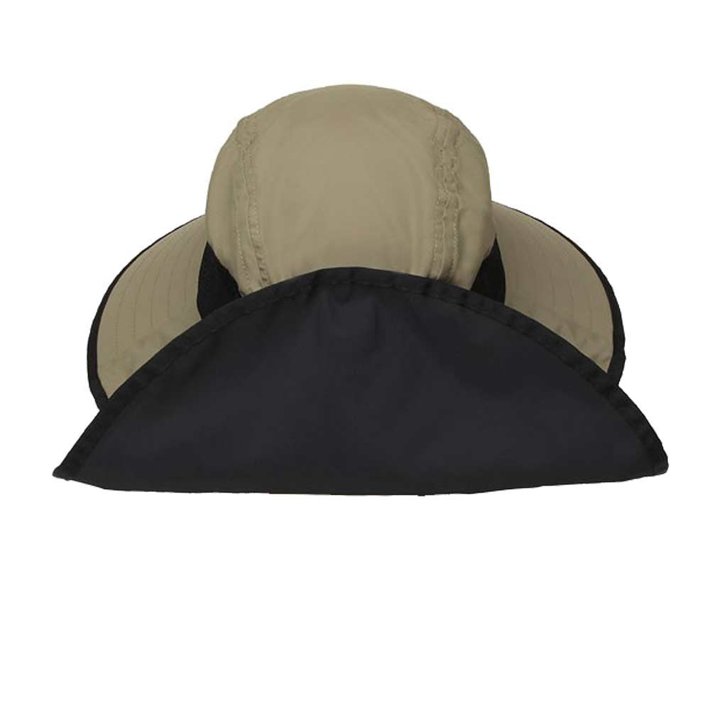 ... Sun Hat with Larg Brim in Back for Neck Can Be Velcroed Up · Side View  of Sunday Afternoons ... 48971c69655a