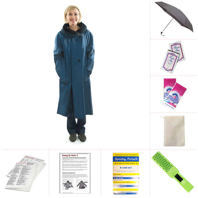 Tea Sapphire Raincoat Bundle Going In Style