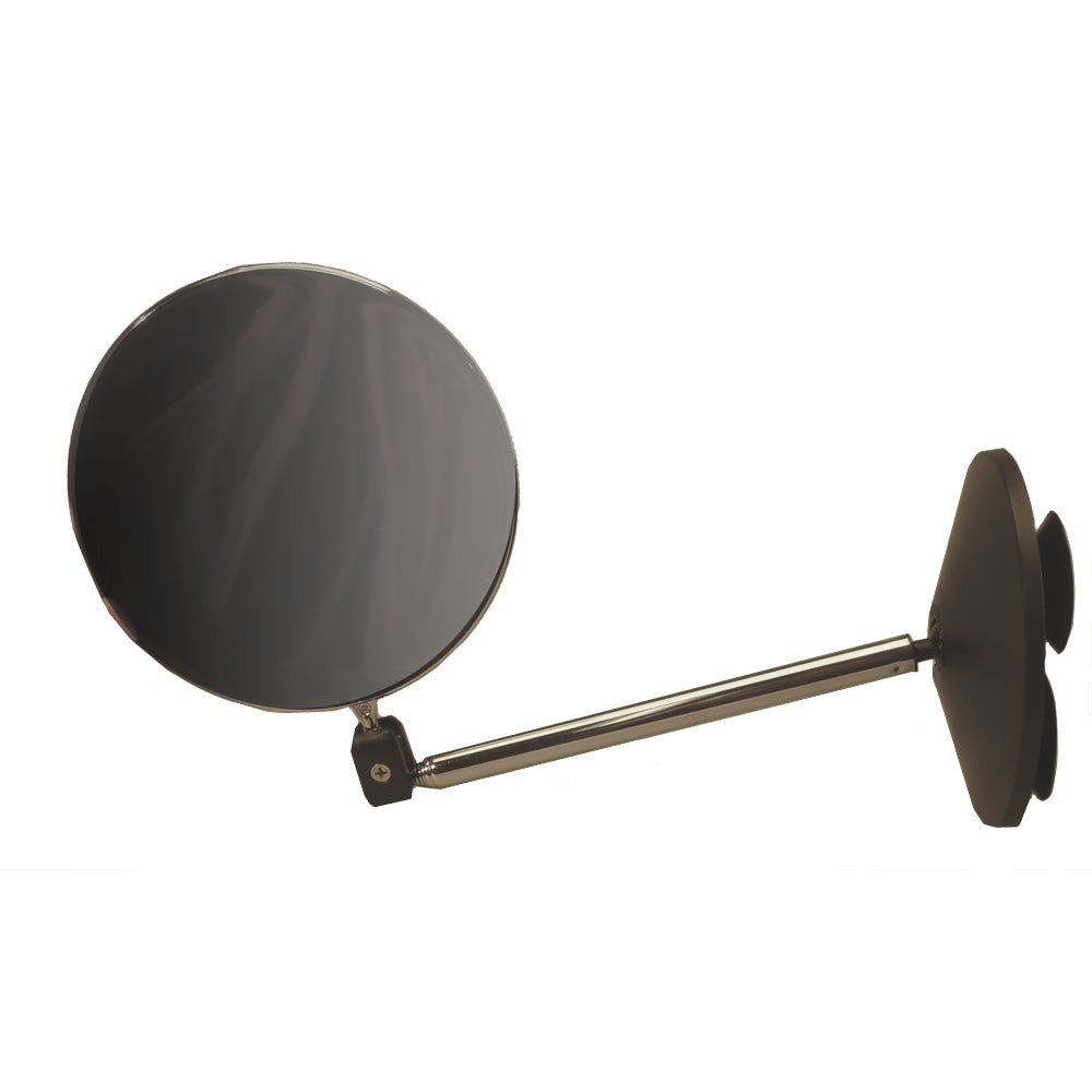 Bathroom Tile  Telescoping Mirror with Suction Cups. Travel Shaving Telescoping Suction Mirror   Going In Style