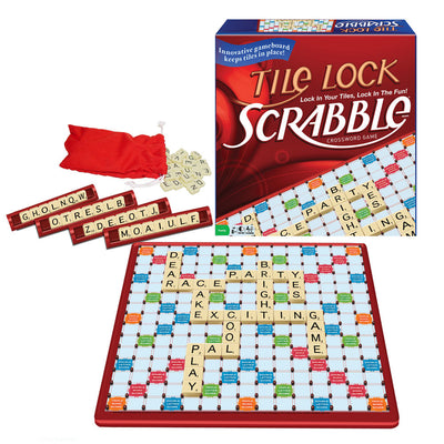 Scrabble Tile Lock Travel Game